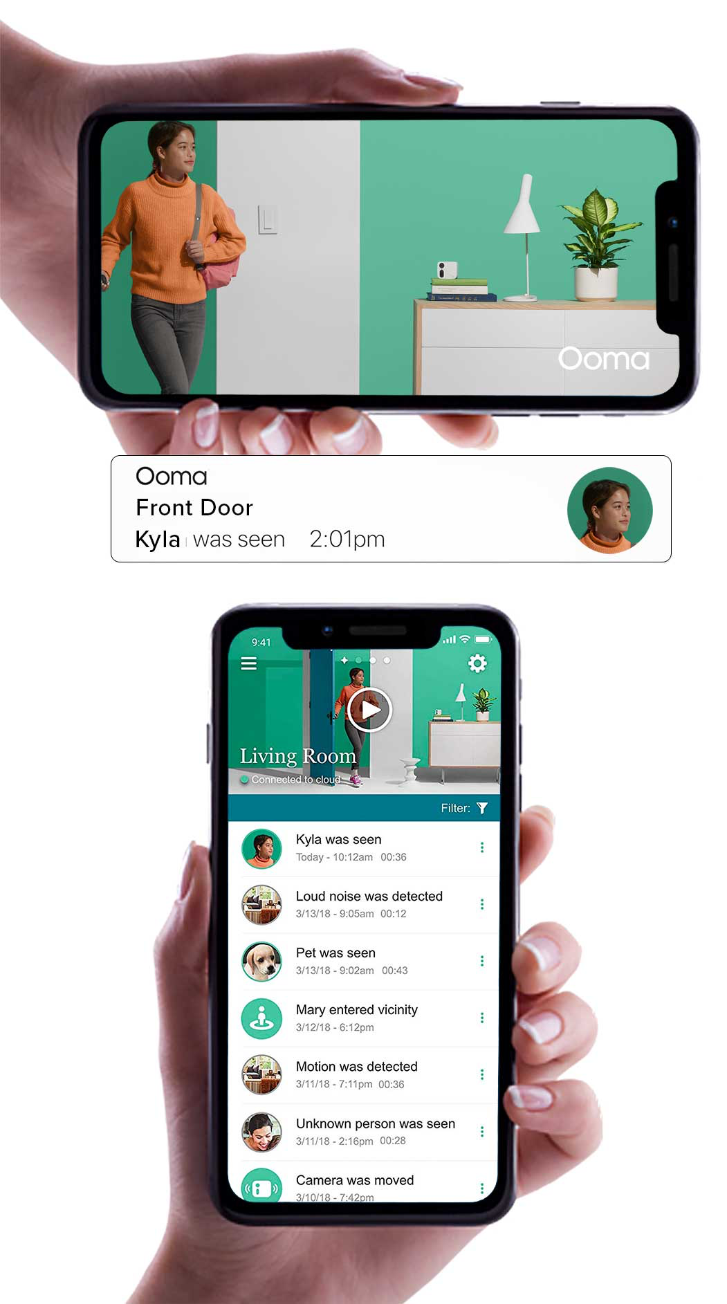 Ooma mobile application image