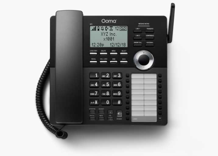 Ooma DP1 Wireless Desk Phone image