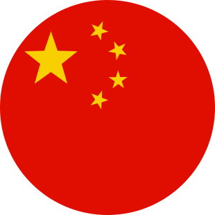 international flag of China