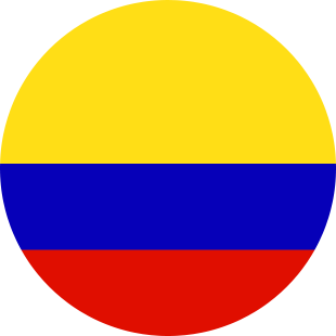 international flag of Colombia