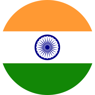 international flag of India