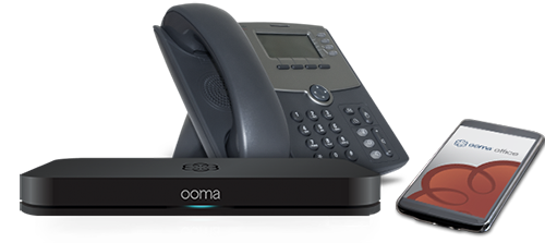 Ooma Office Base Phone Offering