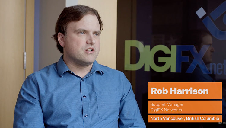Play video: DigiFX Networks boosts customer service with Ooma Enterprise